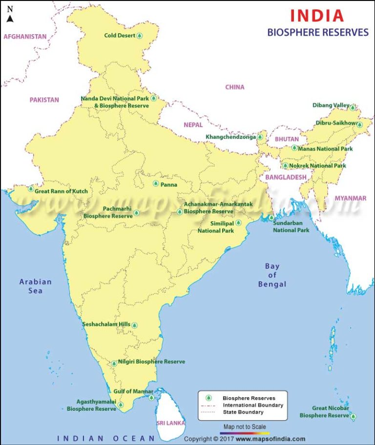 biosphere-reserves-in-india-map